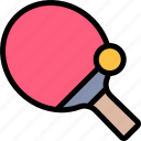 active, healthy, lifestyle, ping, pong, sport icon