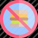 active, healthy, junkfood, lifestyle, no, sport icon