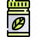 active, healthy, lifestyle, sport, supplement icon