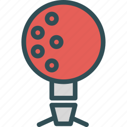 bowlingball, football, soccer, sport icon
