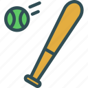 baseball, game, move, thrower icon
