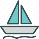 ark, ocean, sailing, sea, sport, water icon