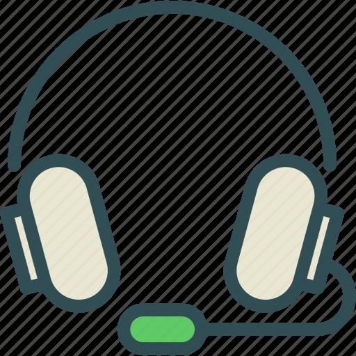 dj, headphones, listen, music icon