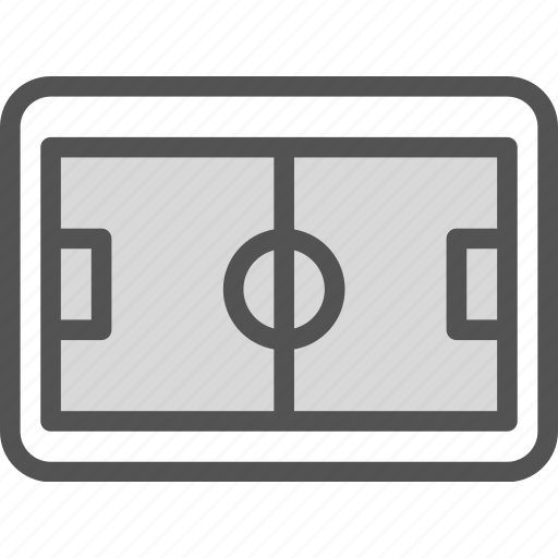 field, green, soccer, sport, stadium icon