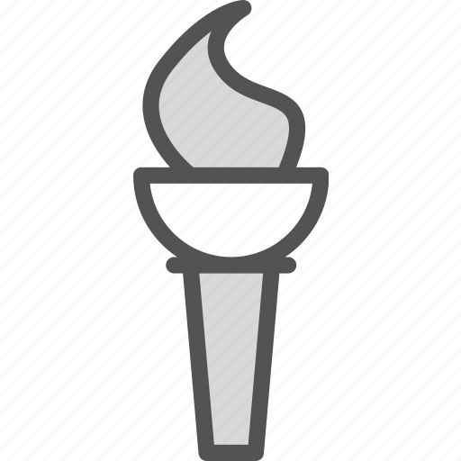 fire, flame, olympic, torch icon
