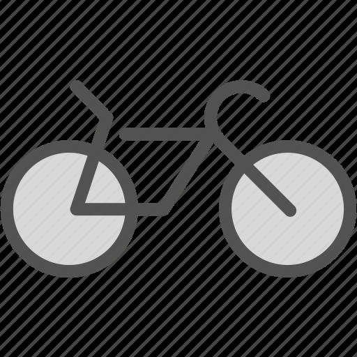 bike, travel, walk icon