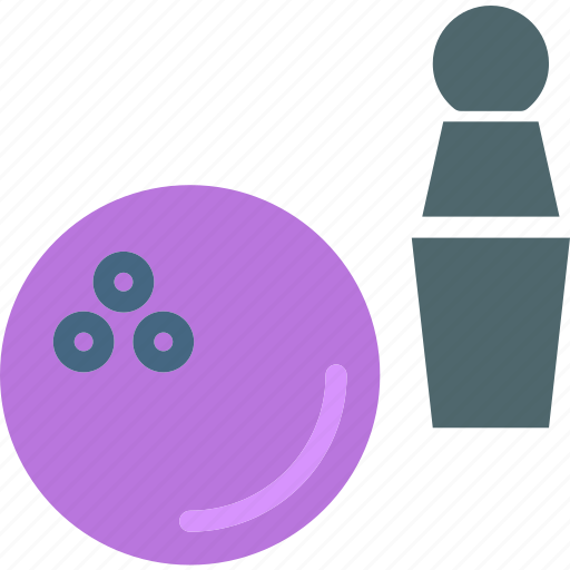 ball, bowling, game, piece icon
