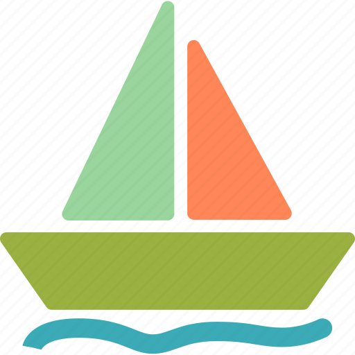 ark, ocean, sailing, sea, sport, water icon