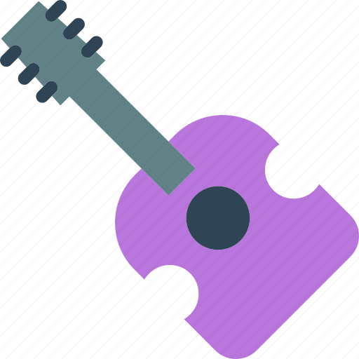 guitar, instrument, music, play icon