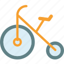 bike, circus, clown, fun, move icon