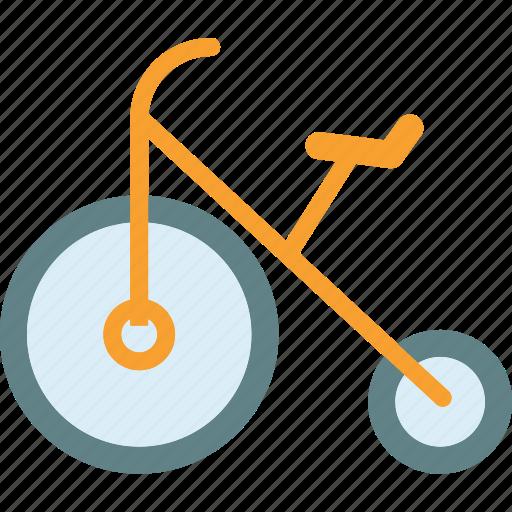 Bike, circus, clown, fun, move icon - Download on Iconfinder