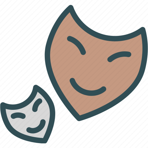 anonym, faces, masks, smiles icon