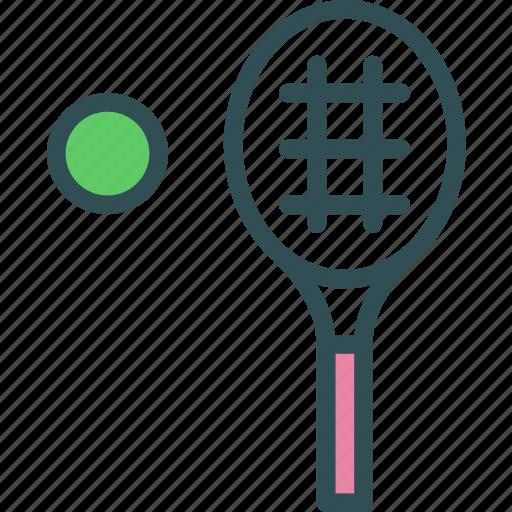 activities, ball, bermington, palette, sports, team, tenis icon