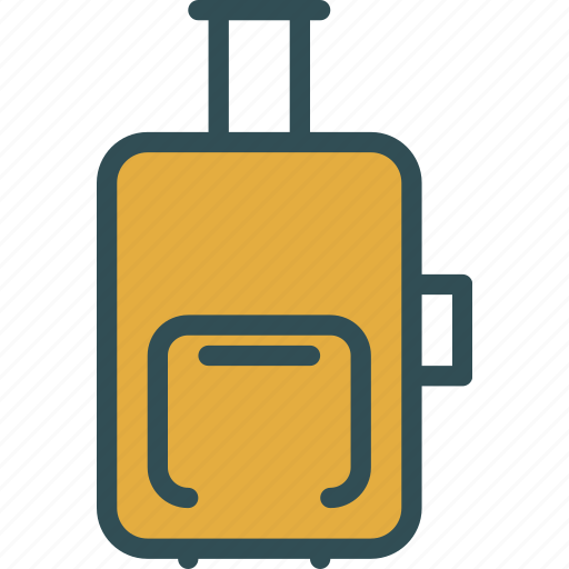 airplane, bag, fly, modern, travel icon