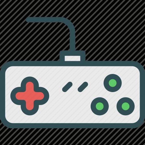 controller, nintendo, old, retro, tv icon