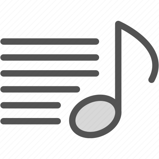 music, read, score, sing, text icon