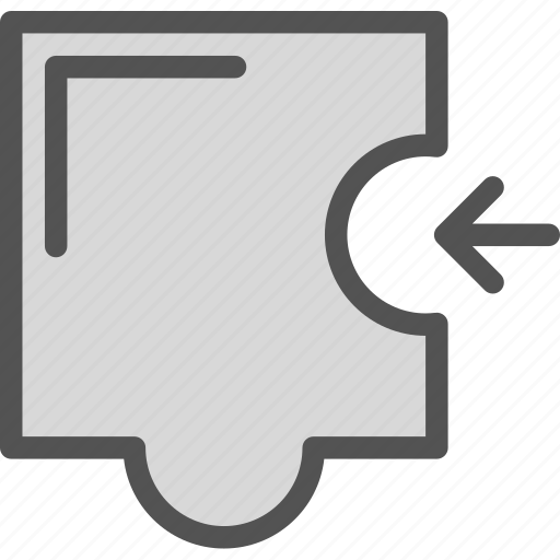 fit, patience, puzzle, trying icon