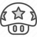 game, mario, mush, nintendo, old, retro icon
