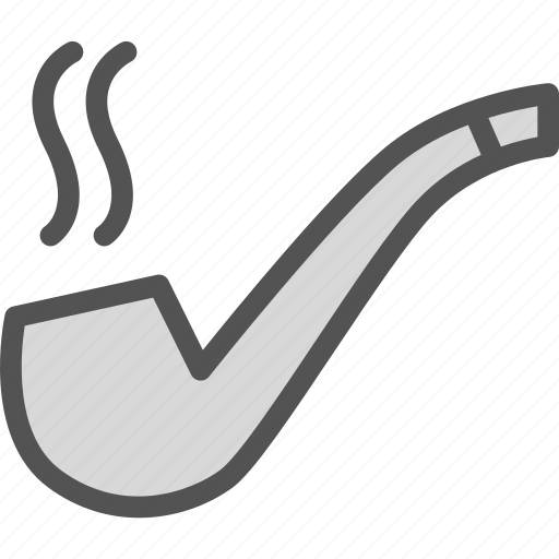 coffee, pipe, relax, smoke, time icon