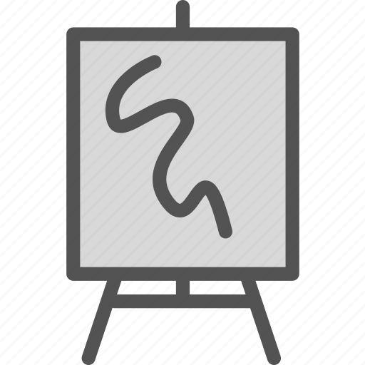 Board Draw Frame Paint Whiteboard Icon