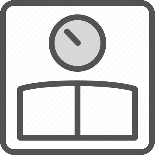 control, kg, pounds, weight icon