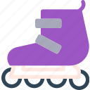 fun, rollingblades, run, speed icon