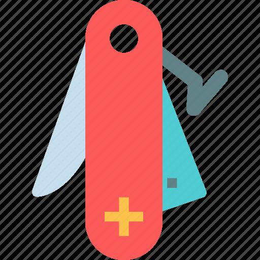 accuracy, handy, knife, swiss, tool icon