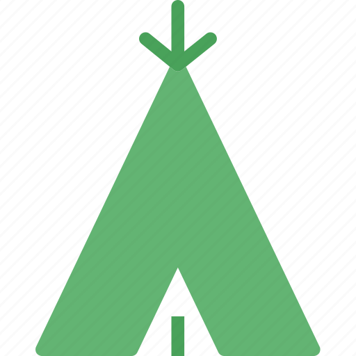 camp, indian, old, tent, travel icon