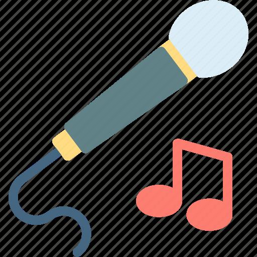 mic, music, play, record, studio icon
