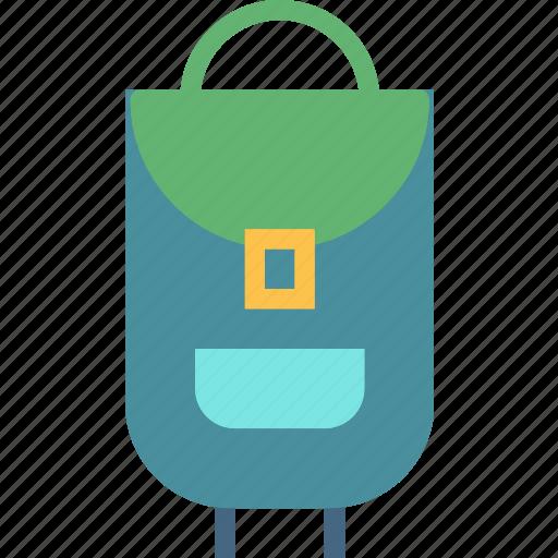 backbag, bag, mountain, travel, trip icon