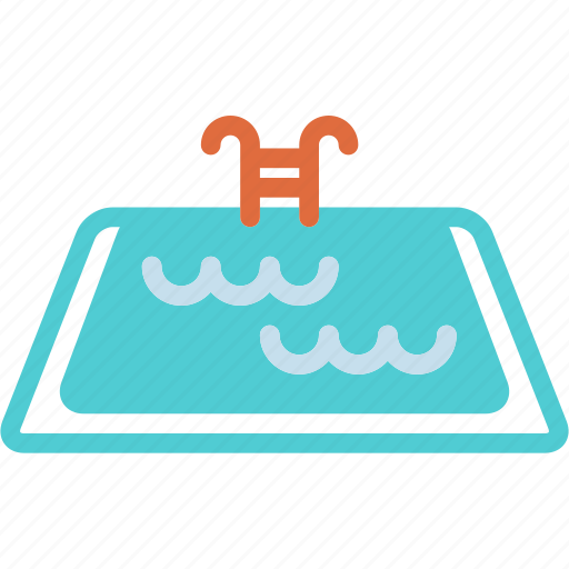 danger, drown, people, pool, summer, swim, water icon