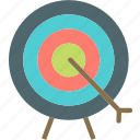accuracy, aim, darts, target icon