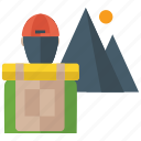 coal mining, digging, drilling, mining, mining industry, mountain mining icon