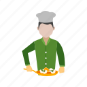 chef, cook, cooking, dinner, heat, meal, stove icon