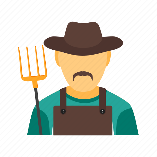 agriculture, crop, farm, farmer, harvest, worker icon