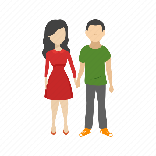 couple, family, hand, holding, holding hands, people, together icon