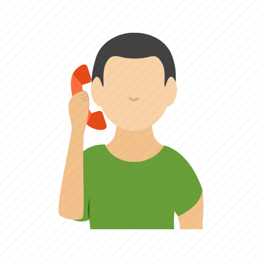 call, connect, man, mobile, phone, speak, talking icon