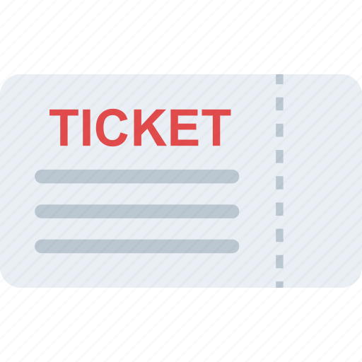 coupon, entry ticket, pass, ticket, voucher icon