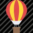 air balloon, fire balloon, hot air balloon, parachute balloon, weather balloon icon