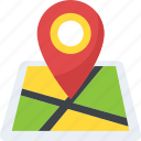 address navigation, geolocation, gps, location map, map placeholder icon