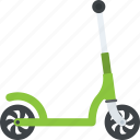 kick scooter, micro scooter, push scooter, scooter, sports scooter icon