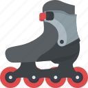 inline skating, quad roller skates, skates, skating, skating shoes icon