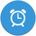 alarm, clock, design, material, time, timer icon