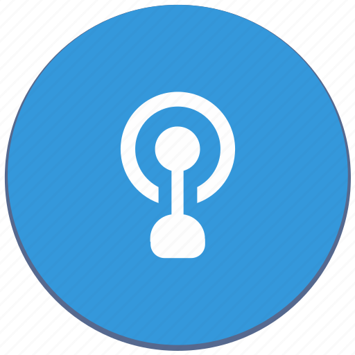antenna, design, material, point, signal, wifi icon