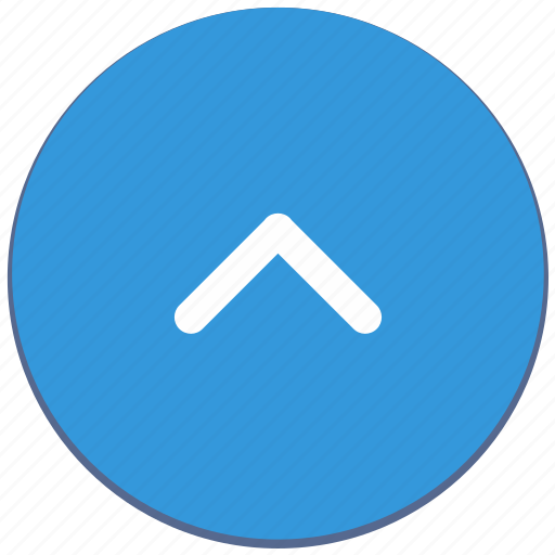 arrow, design, material, navigation, top, up icon