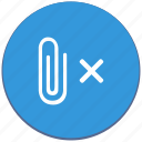 attach, delete, design, file, mailbox, material icon