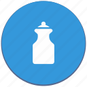 bottle, design, dishes, kitchen, material, milk icon