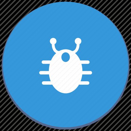 antivirus, bug, design, material, virus, warning icon