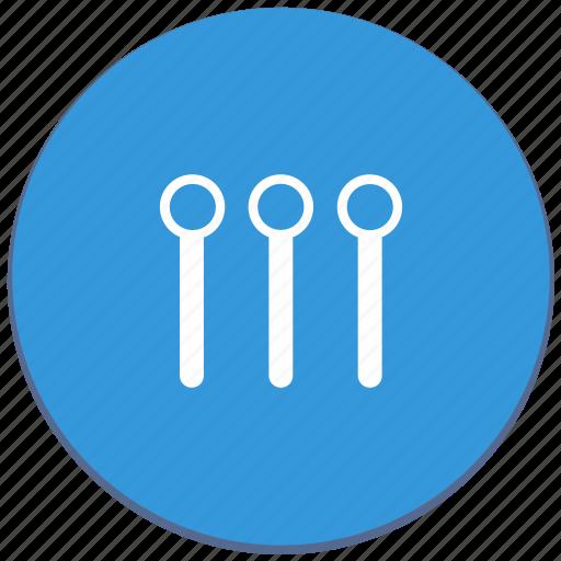 design, level, material, maximum, settings, vertical icon