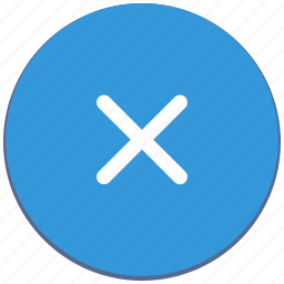 close, delete, design, material, navigation icon